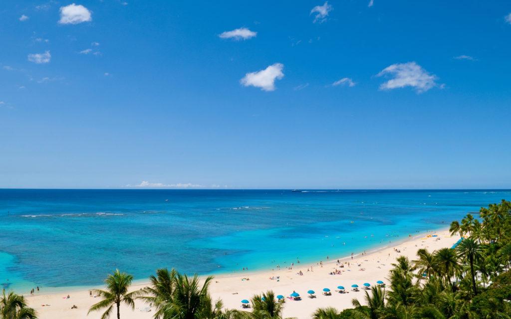 Tropical-white-beach
