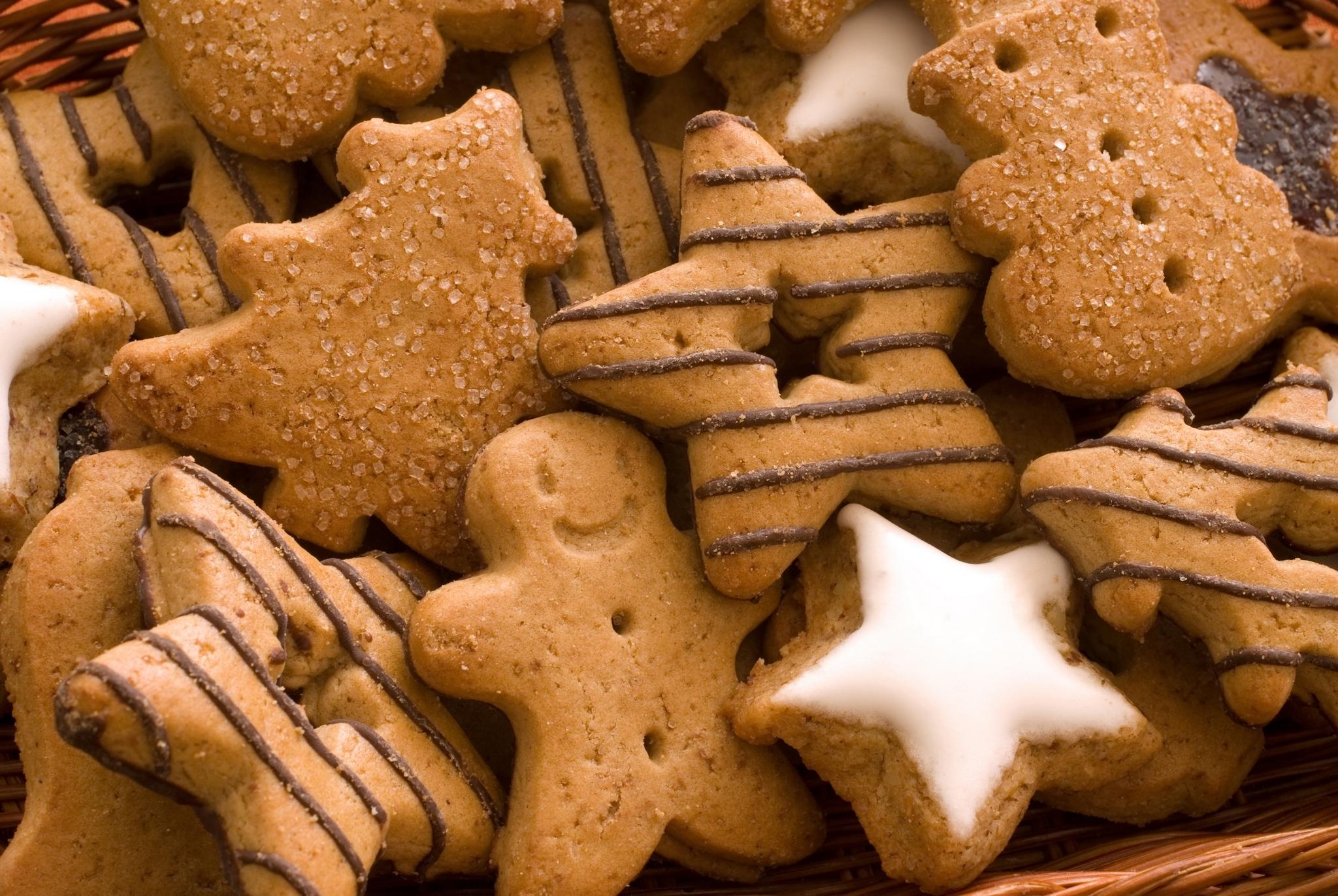 печенье звезды тарелка  № 2926894 бесплатно