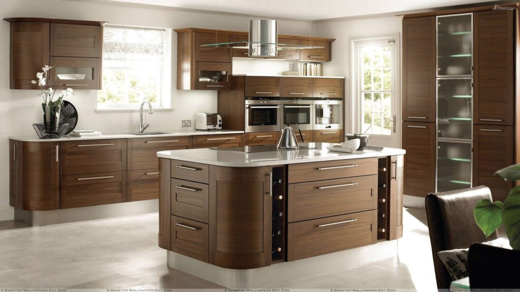 Modered Wooden Kitchen