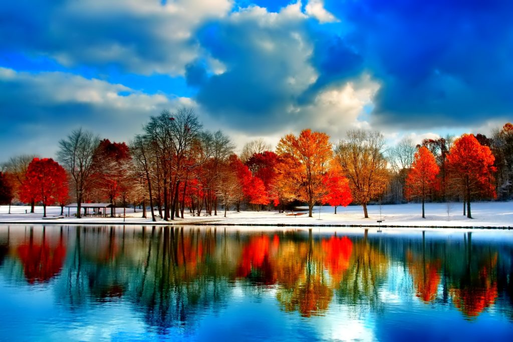 Winter-in-autumn
