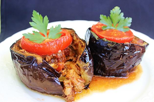 Fırında Etsiz Patlıcan Yemeği Videosu
